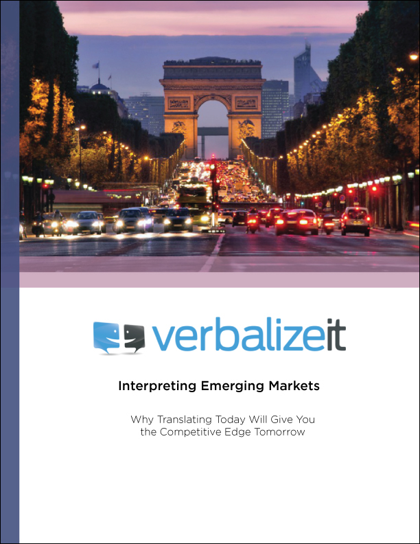 Interpreting Emerging Markets White Paper - VerbalizeIt